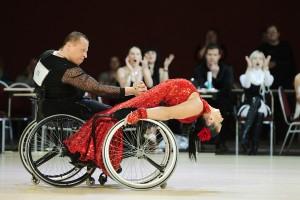 чемпионат по танцам на колясках