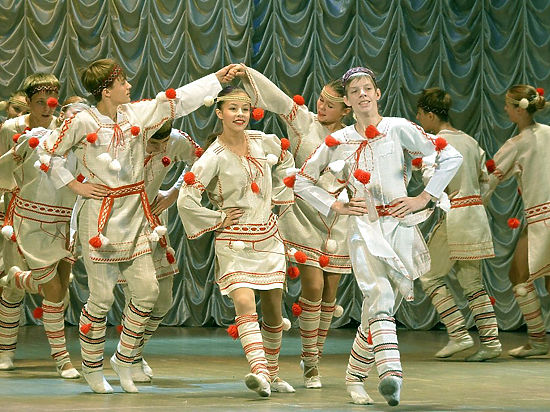 Вихри танца в Заполярье