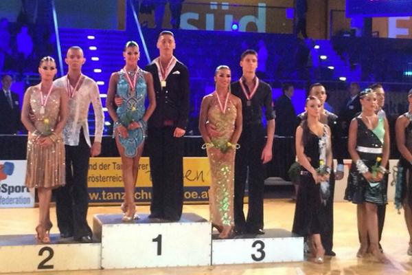 Танцоры WDSF на Austrian Open 2014