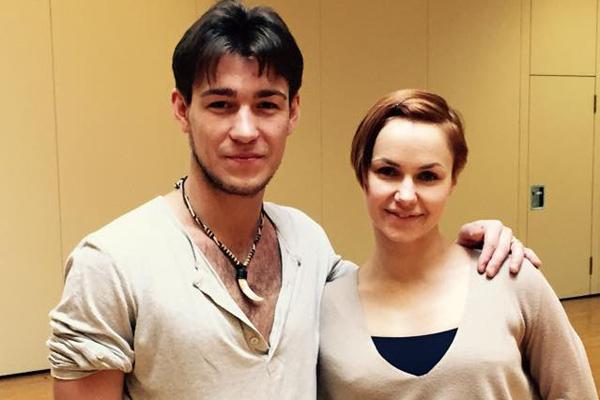 Тимур Имаметдинов и Нина Беззубова
