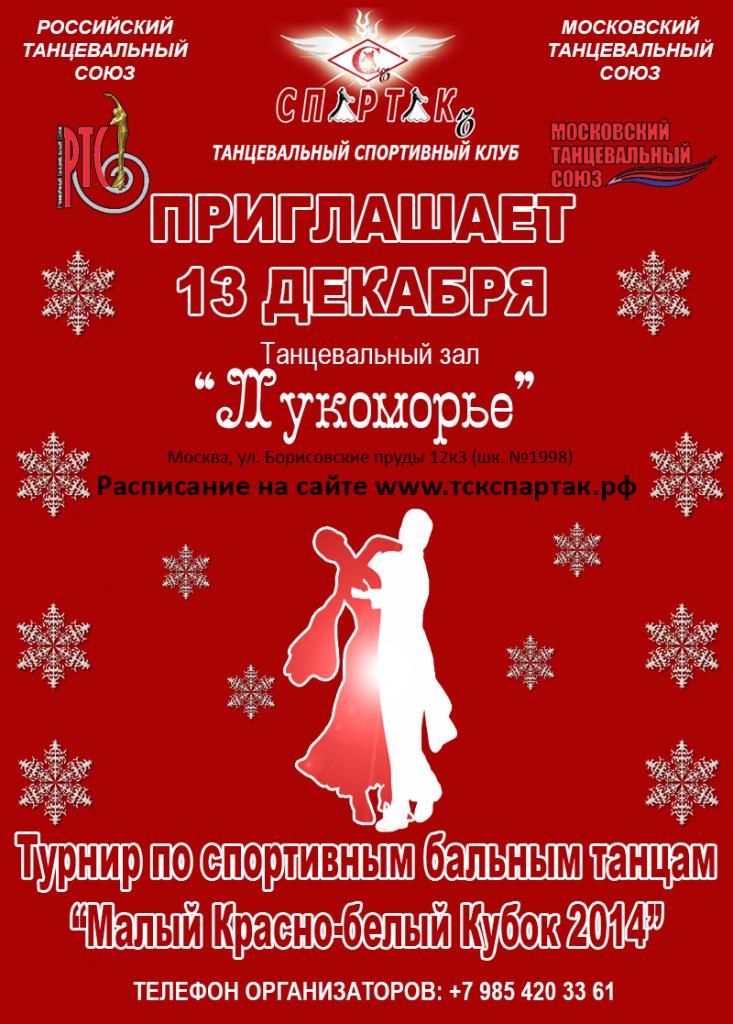 Малый Красно-белый Кубок 2014