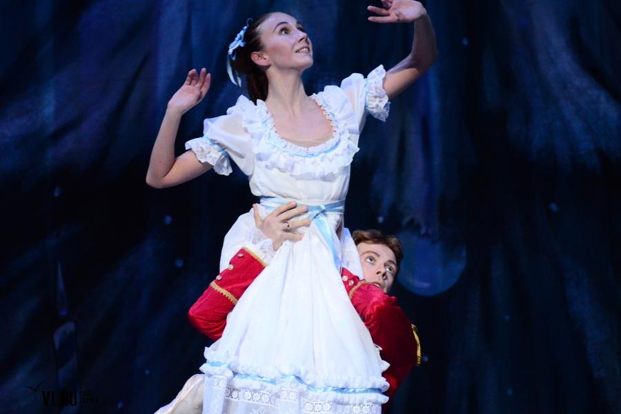 Предновогодняя премьера балета «Щелкунчик» во Владивостоке