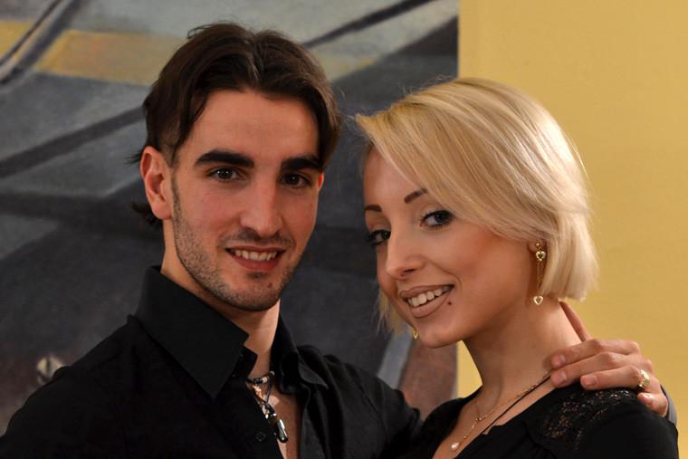 Давид Жутги и Татьяна Подгорная танцуют вместе
