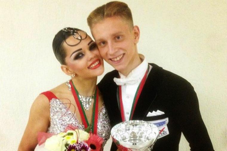 Александр Рябцев и Мария Облакова на Lithuanian Open 2014