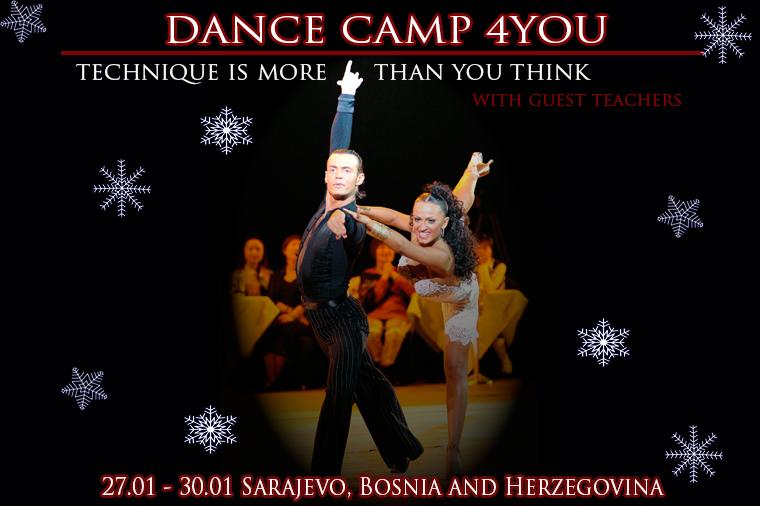 DANCE CAMP 4YOU: скоро тренировочные сборы в Сараево